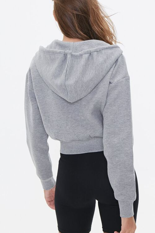Basic Fleece Zip-Up Hoodie, image 4