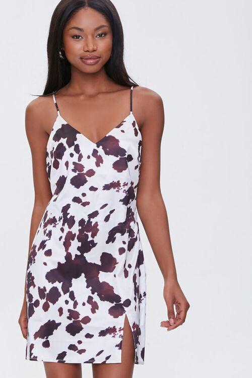 Spotted Print Cami Mini Dress, image 1