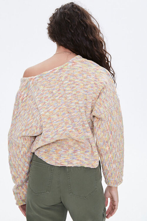 Marled High-Low Sweater, image 3