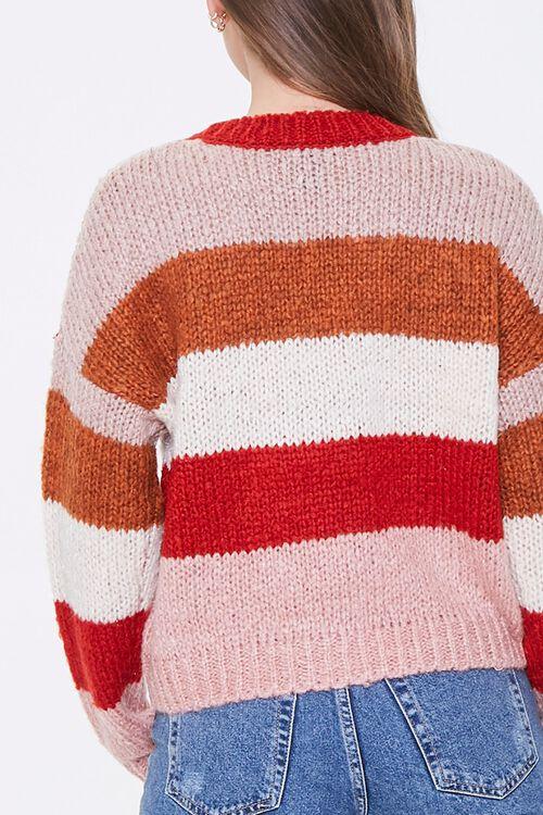 Striped Drop-Shoulder Sweater, image 3