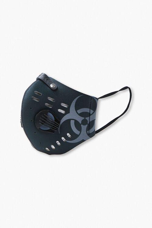 Men Graphic Valve Face Mask, image 2