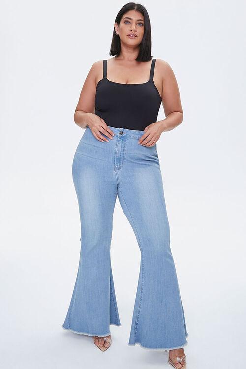 Plus Size Square-Neck Bodysuit, image 4