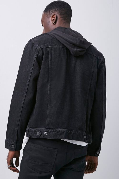 Hooded Denim Jacket, image 3