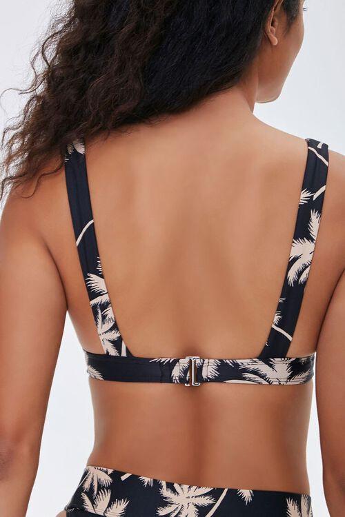Tropical Print Bralette Bikini Top, image 3