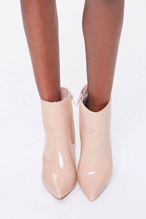 Pointed Toe Block Heel Booties, image 4