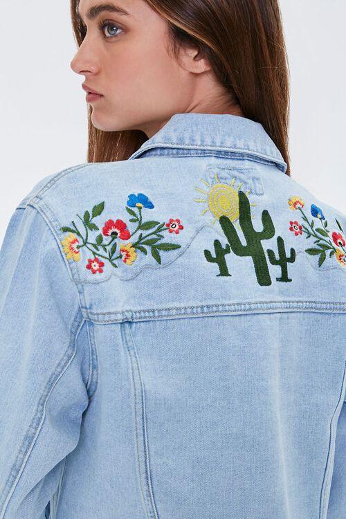Embroidered Desert Denim Jacket, image 6