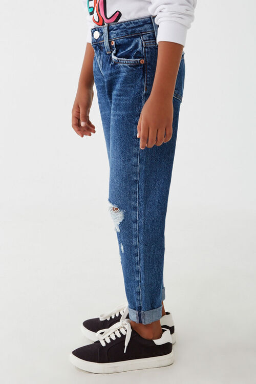 Girls Distressed Jeans (Kids), image 3