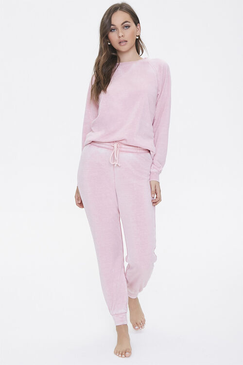 French Terry Pajama Joggers, image 1