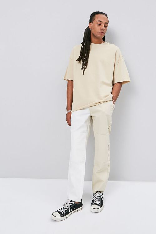 Colorblock Canvas Pants, image 5