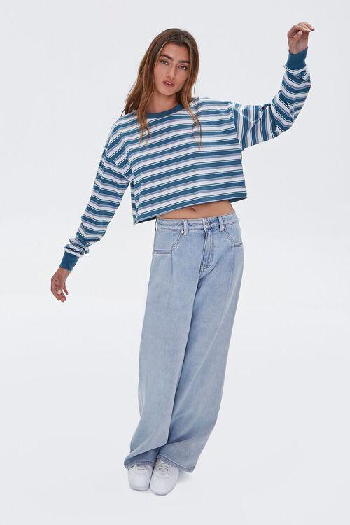 High-Waist Wide-Leg Jeans, image 1