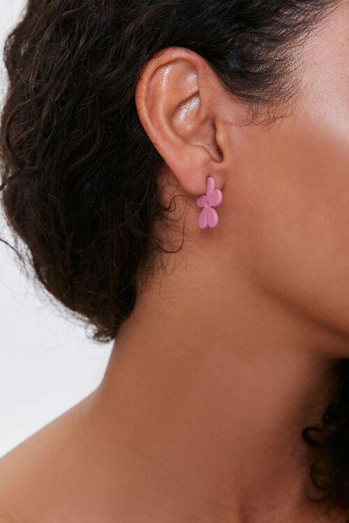 Floral Stud Earrings, image 1