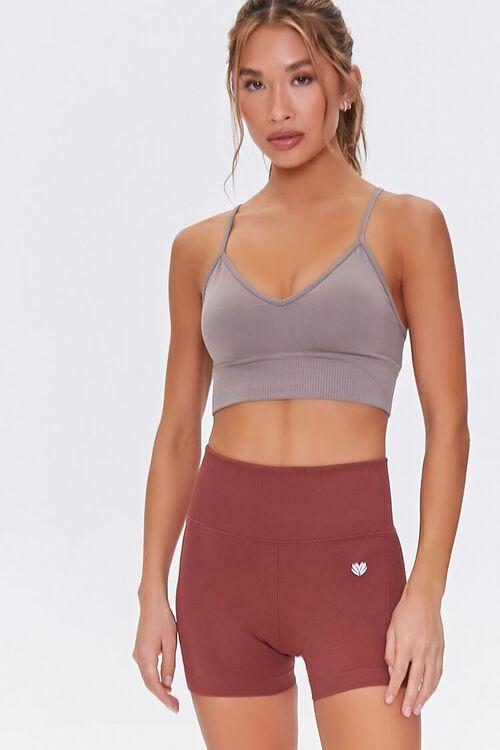 Active Seamless High-Waist Shorts, image 1