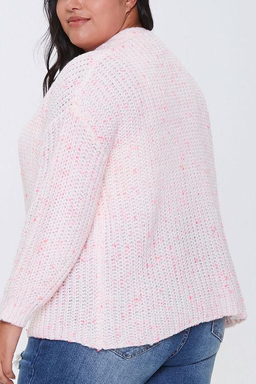 Plus Size Open-Front Cardigan, image 3