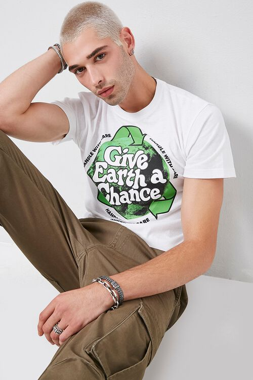 Give Earth a Chance Graphic Tee, image 1
