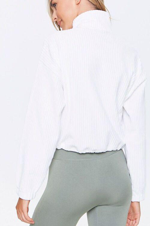 Ribbed Half-Zip Pullover, image 3