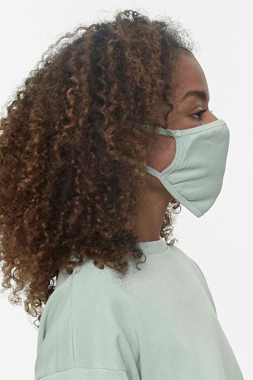 Ribbed-Trim Face Mask, image 2