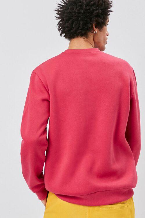 Crew Neck Fleece Sweatshirt, image 4