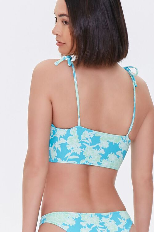 Floral Bralette Bikini Top, image 3