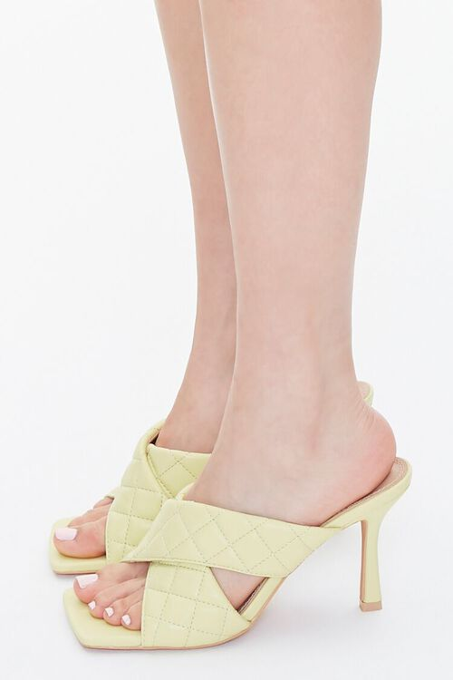 Quilted Crisscross Heels, image 2