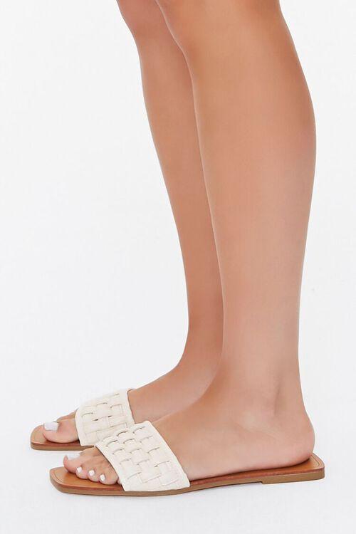 Crosshatch Square-Toe Flat Sandals, image 6
