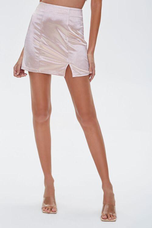 Satin Mini Skirt, image 2