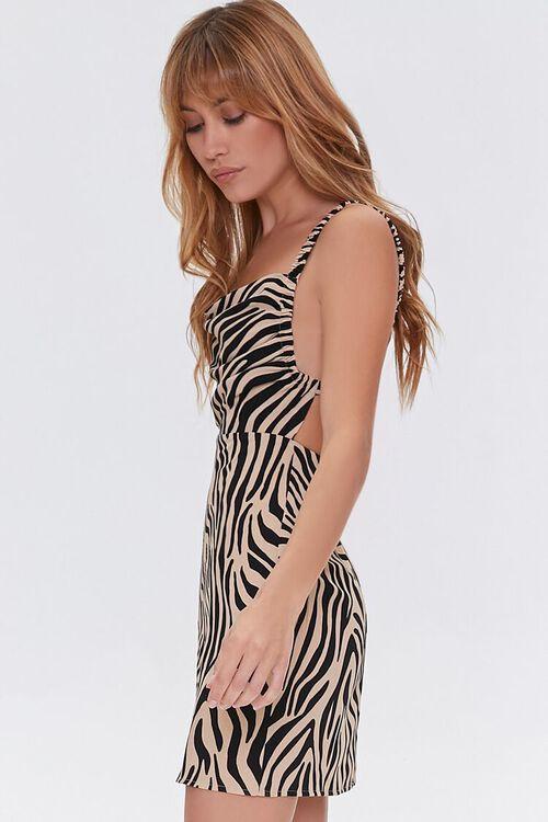 Tiger Print Cutout Dress, image 2