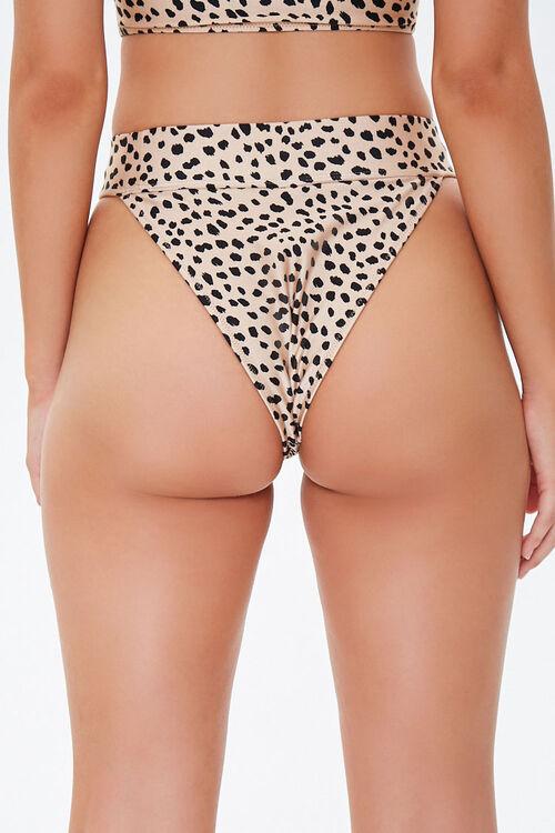 Cheetah High-Cut Bikini Bottoms, image 3