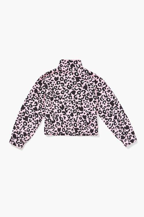 Girls Leopard Print Anorak (Kids), image 2