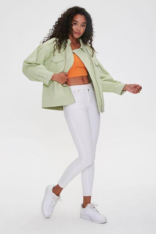 Zip-Up Drop-Sleeve Jacket, image 4