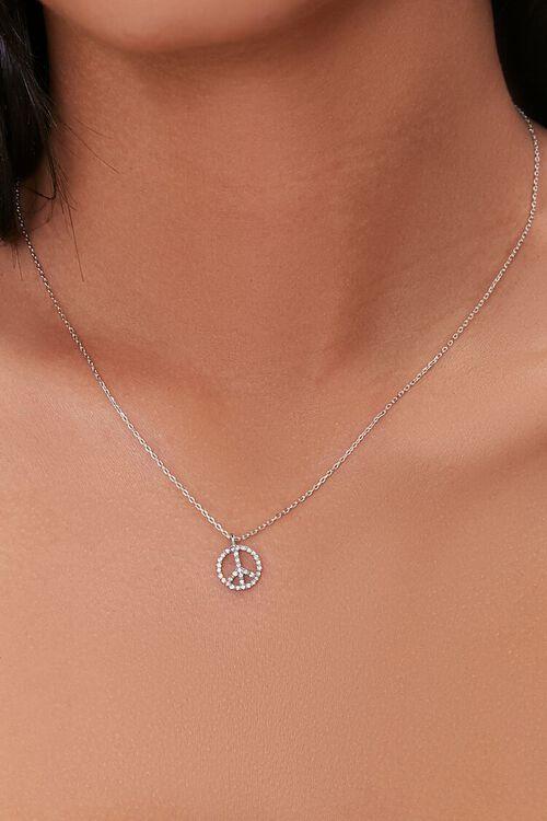 Peace Charm Necklace, image 1