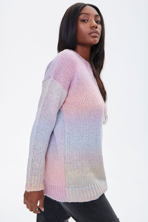 Watercolor Ribbed Sweater, image 2