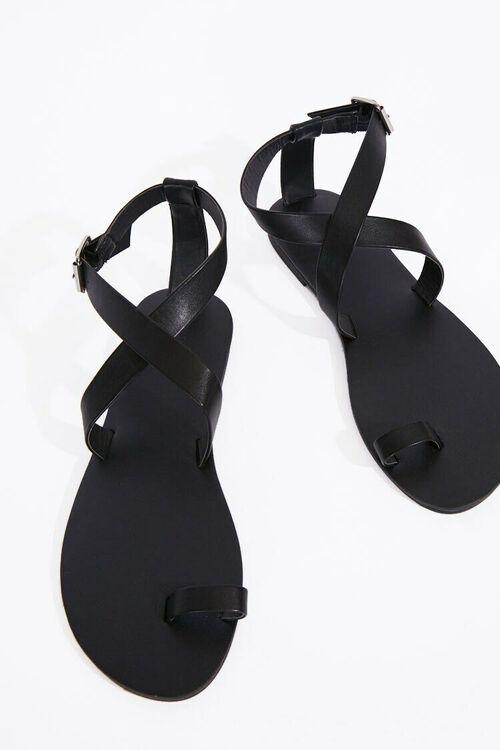 Crisscross Toe Loop Sandals, image 3