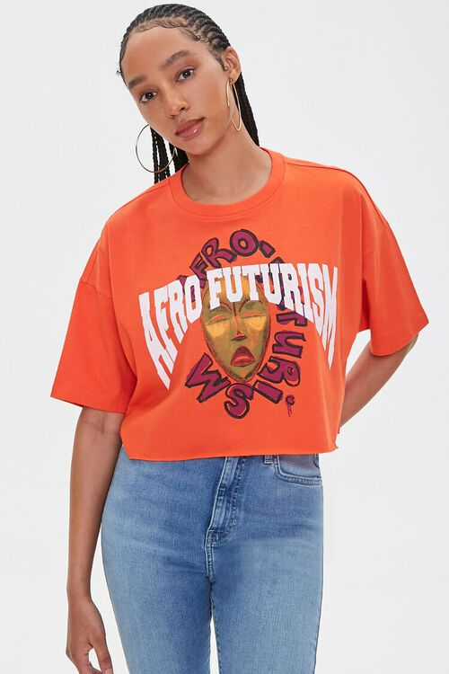 Ashley Walker Afro Futurism Graphic Tee, image 6