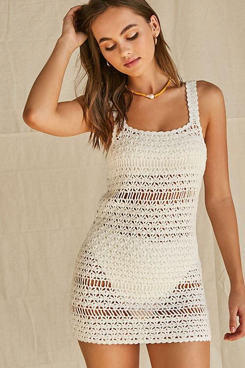 Crochet Swim Cover-Up Dress, image 6