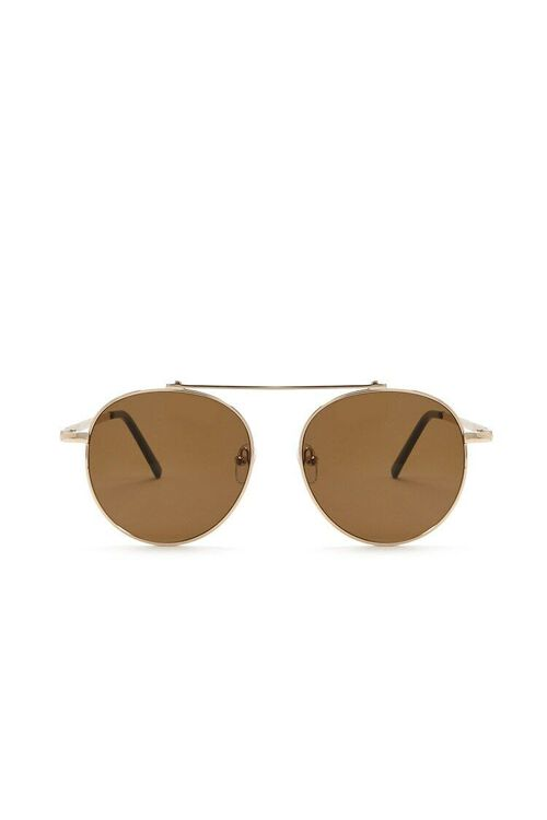 Premium Metal Aviator Sunglasses, image 1