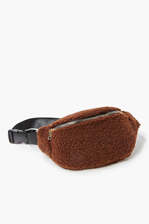 Faux Shearling Fanny Pack, image 3