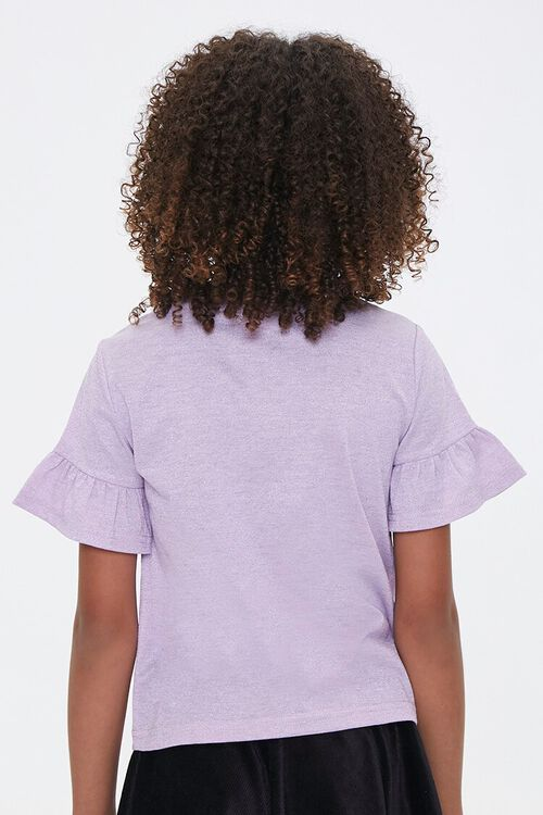 Girls Ruffled-Sleeve Tee (Kids), image 3