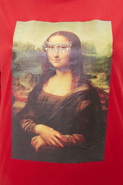 Plus Size Mona Lisa Long-Sleeve Tee, image 5