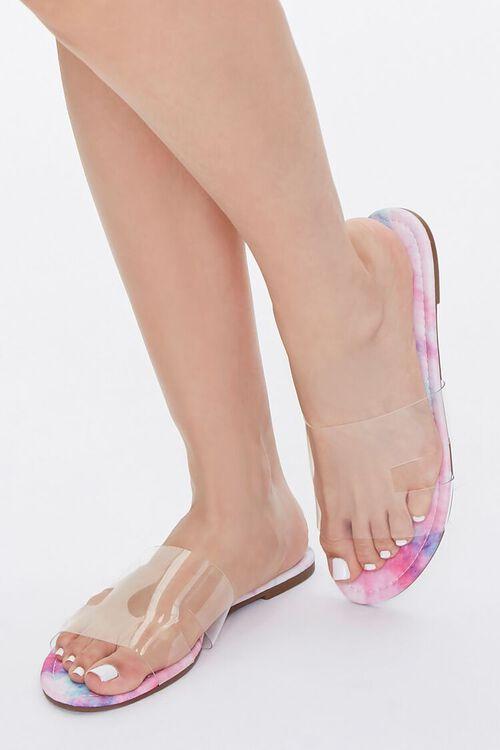 Cloud Wash Clear-Strap Sandals, image 1