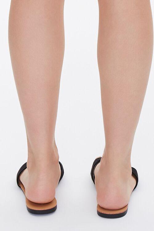 Faux Leather Open-Toe Sandals, image 3