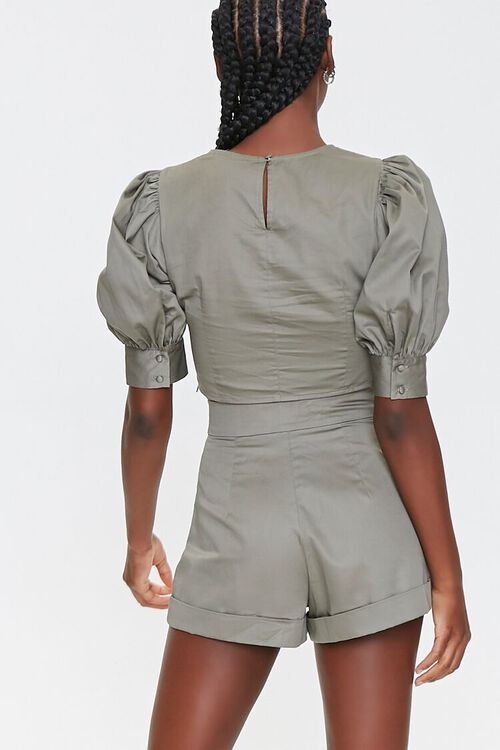 Puff Sleeve Top & Shorts Set, image 3