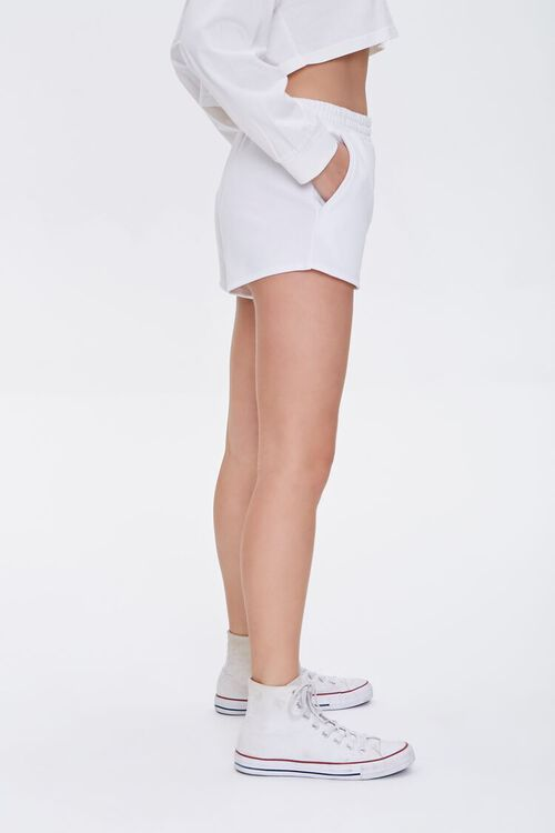 Seamed French Terry Shorts, image 3