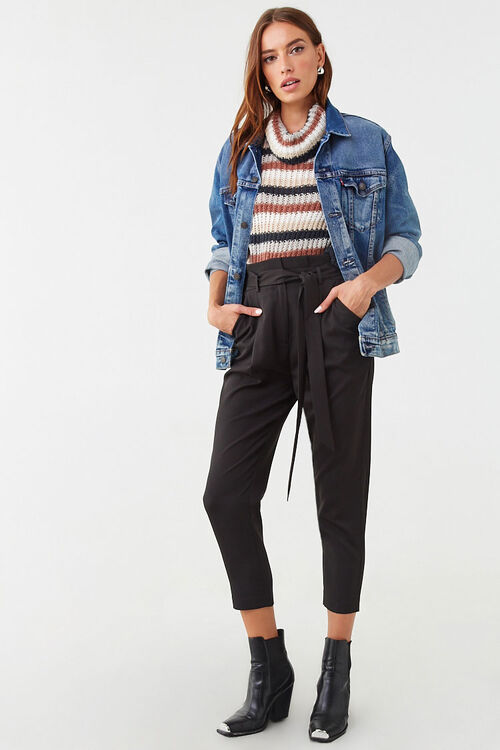 Paperbag Ankle Pants, image 4