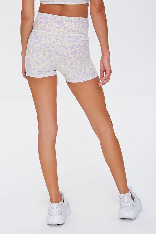 Active Floral Print Biker Shorts, image 4