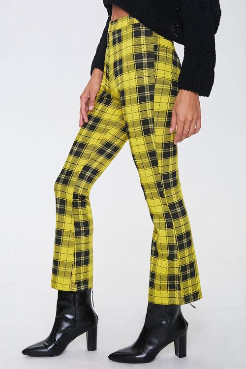 Plaid Flare Pants, image 3