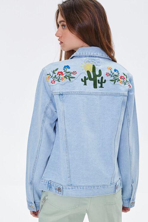 Embroidered Desert Denim Jacket, image 1