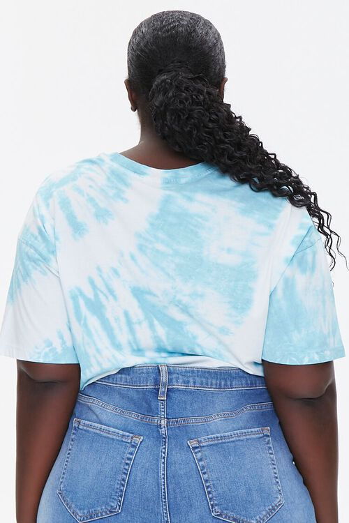 Plus Size California Graphic Cropped Tee, image 3