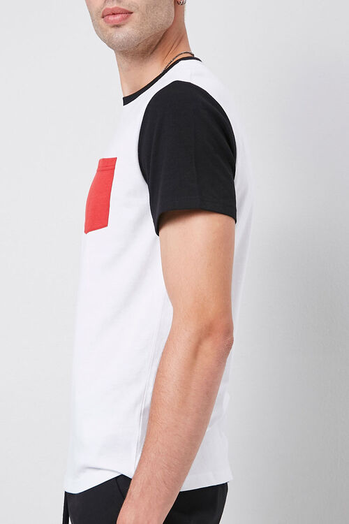 Colorblocked Cotton Tee, image 2