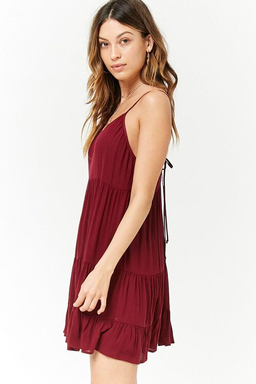 Lace-Up Tiered Dress, image 2
