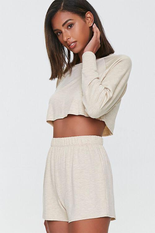 Raw-Cut Lounge Shorts, image 1
